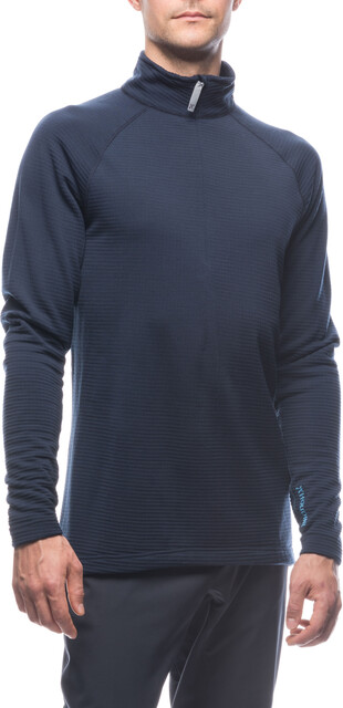 Houdini M's Wooler Halfzip Sweater Blå Illusion/Blå